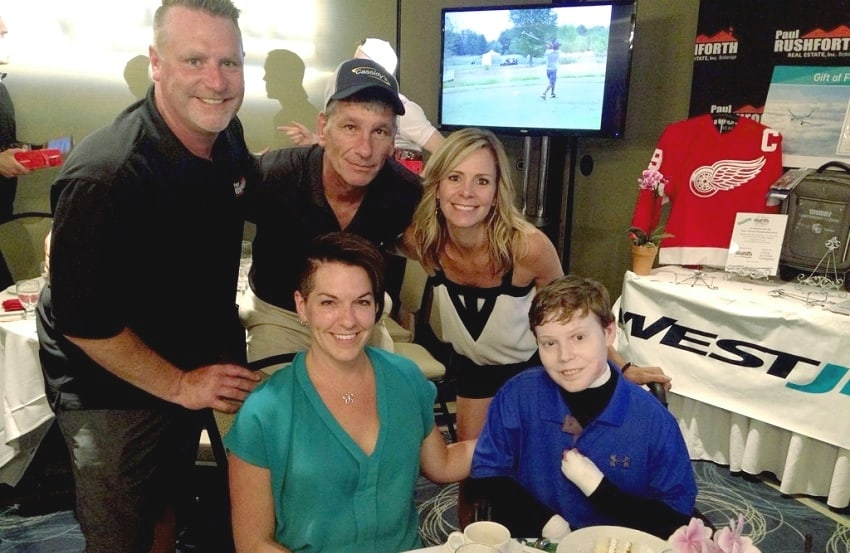 Charity Golf Tournament special guests