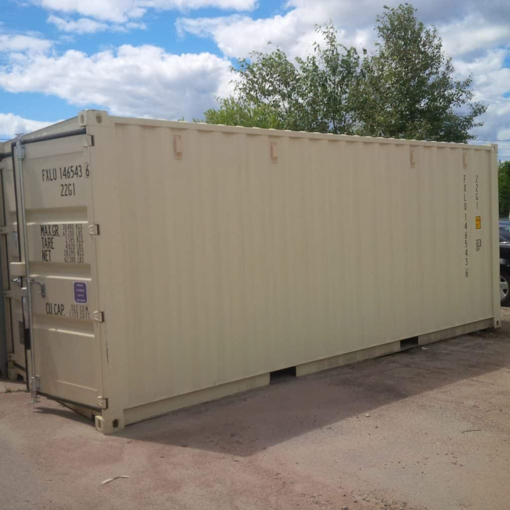 20 Foot New Shipping Container For Sale