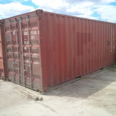 20 foot used shipping container for sale