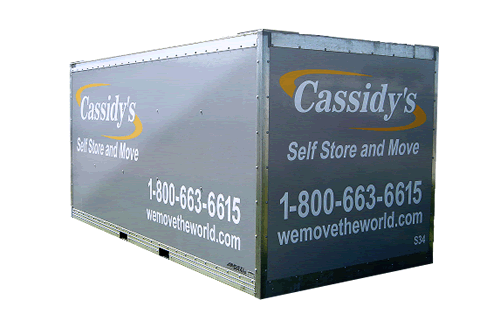 Cassidys Residential Storage Container